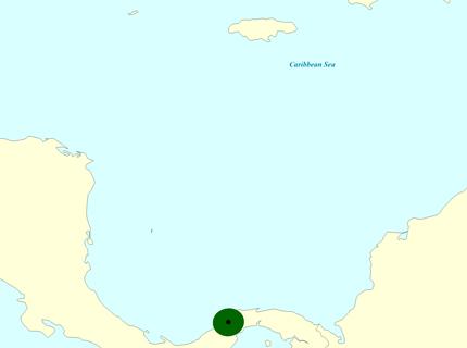 Late Miocene Map
