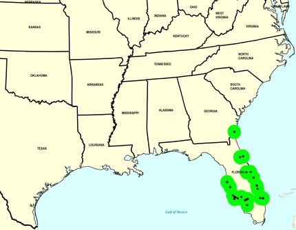Late Pleistocene Map